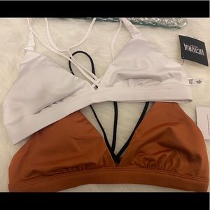 NWT 2 Victoria's Secret Sport bra bralette